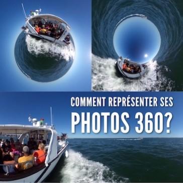 Comment représenter ses photos 360° ?
