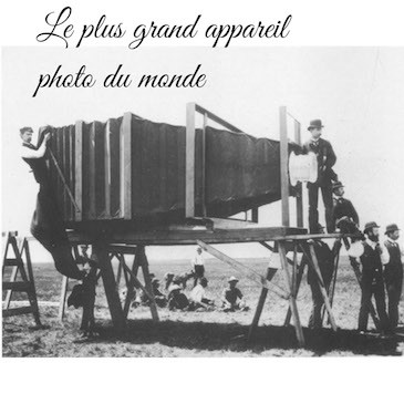 Le plus grand appareil photo du Monde
