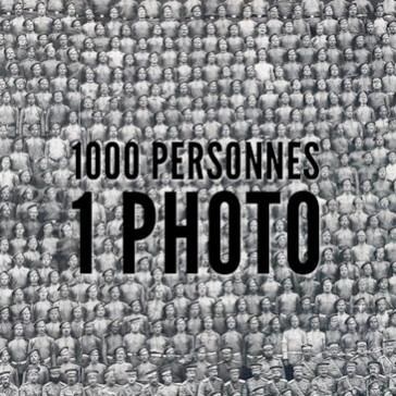 1000 personnes – 1 photo