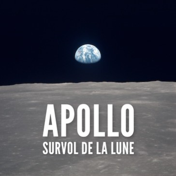 Apollo – Survol de la Lune
