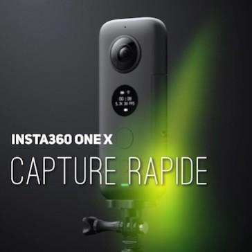 Insta360 ONE X – Capture rapide