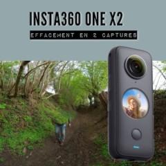 Insta360 ONE X2 – Effacement avec deux captures