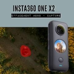 Insta360 ONE X2 – Effacement avec capture unique