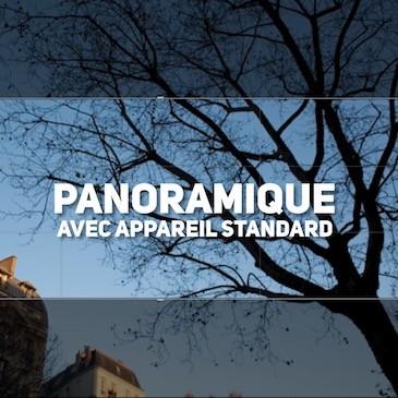 Photo panoramique avec appareil photo standard