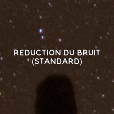 Réduction du bruit pour les photos nocturnes (standard)