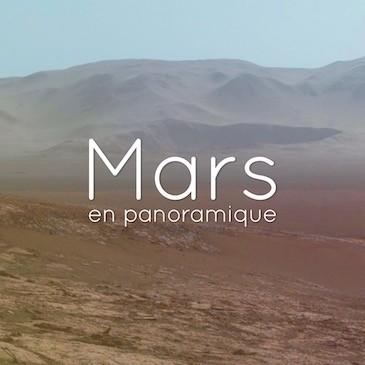 La Planète Mars en panoramique