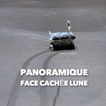 Photo panoramique de la face cachée de la Lune