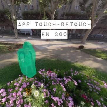 Application Touch Retouch en 360