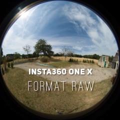 Insta360 ONE X – Format RAW