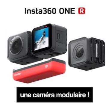 Insta360 ONE R – Une caméra modulaire !