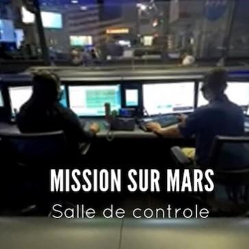 Mission sur Mars : Dans la salle de contrôle