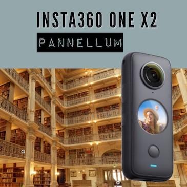 Insta360 ONE X2 – Visite virtuelle avec Pannellum