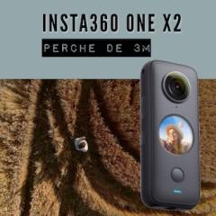 Insta360 ONE X2 – Perche de 3m